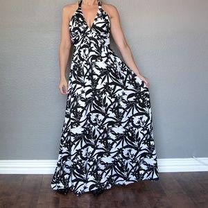 BB Dakota NWT Size 0 Silky Maxi Dress